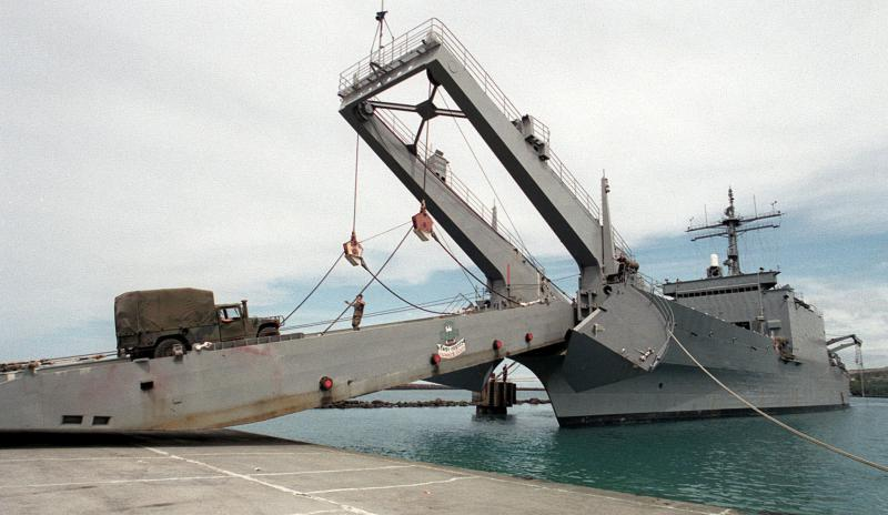LANDING SHIP TANK (LST) CLASSE NEWPORT  799154USSFrederick1996