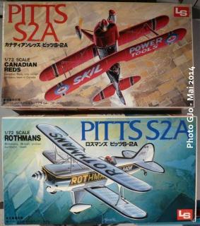 Trois bricoles pour un Pitts - kit LS - 1/72 800303Pitts7200