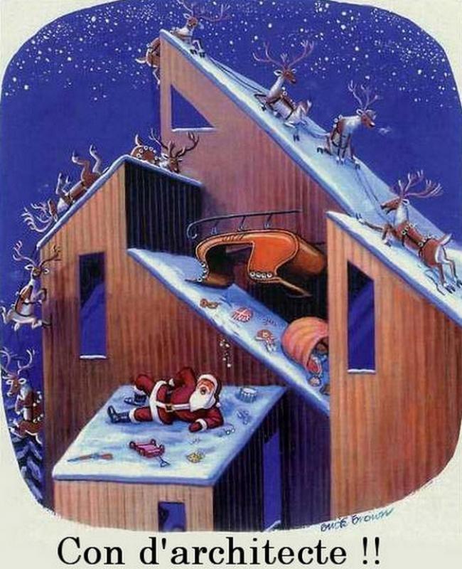 Joyeux Noël à tous! 800980HumourPereNoelmaisonfuturiste