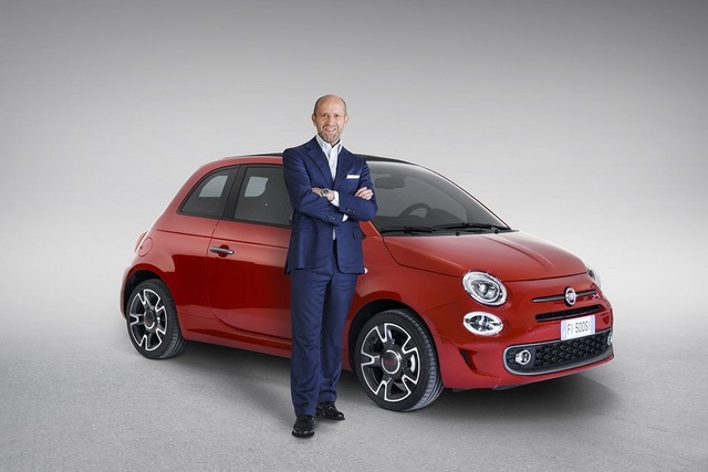 Gamme et tarifs de la nouvelle Fiat 500S 801505160607FiatLucaNapolitano500S01