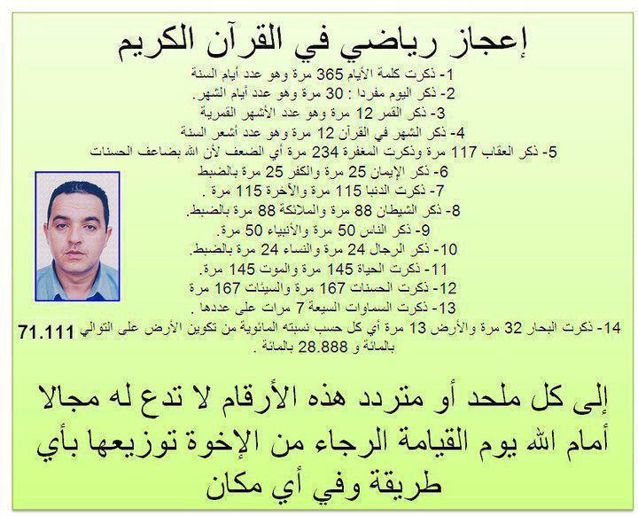 أمثلة عن الإعجاز القرآني  801827408895303238586394136302264353158226933876463962013n
