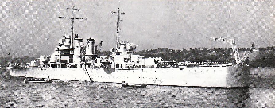 USN CROISEUR LOURD USS WICHITA 802414USSWichitaNewYork1939