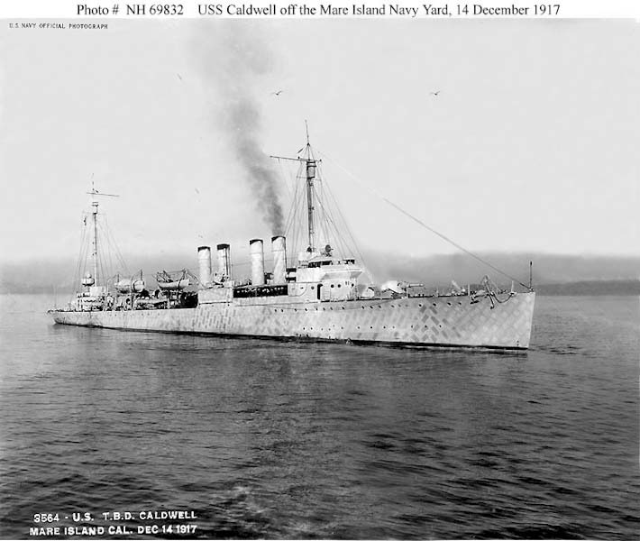 USN DESTROYERS CLASSE MAHAN 804097USSCaldwell