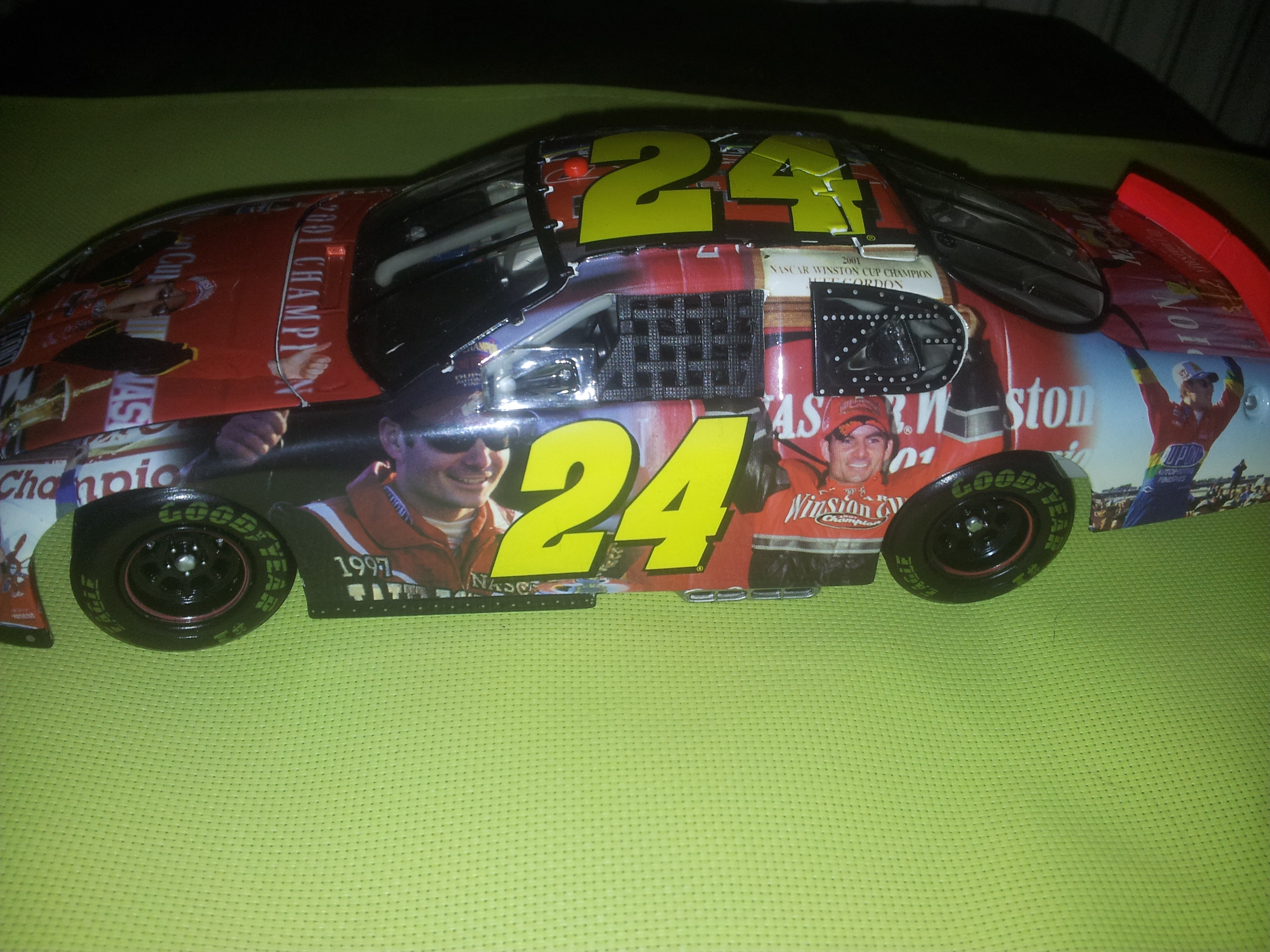Nascar & Jeff Gordon's tribute 80460720150212110313