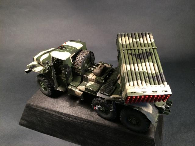 BM-21 Grad - Trumpeter 1/35 805302IMG3264