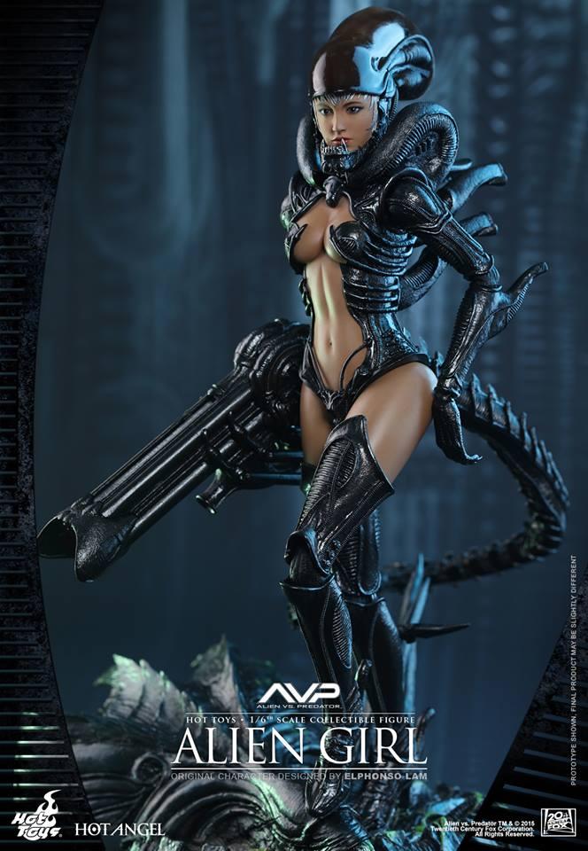HOT TOYS - AVP - Alien Girl 806328107