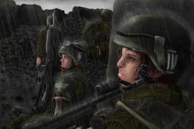 [W40K] Collection d'images : La Garde Impériale 807836HoldyourguardupbyRabenschrey