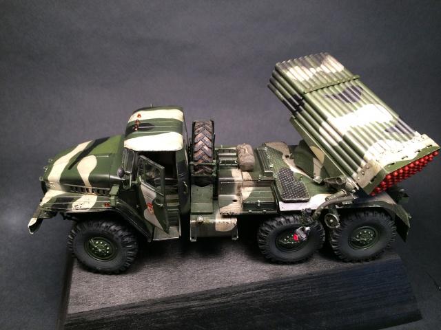 BM-21 Grad - Trumpeter 1/35 809277IMG3258