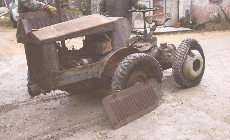 TRACTEUR - ALMACOA....le 1er tracteur 4x4 de petite taille 8103880410