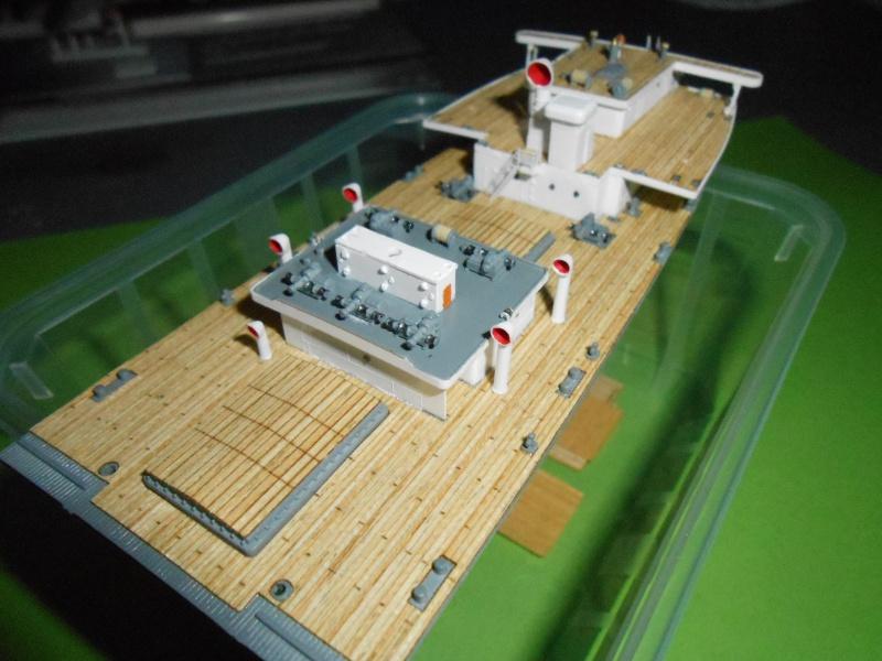 Hikawa Maru hopital 1/350 PE/pont en bois et babioles  - Page 3 810969DSCN5629