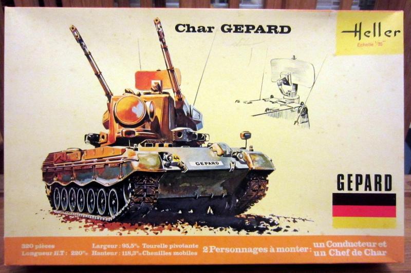 Char GEPARD  - (Réf. 820) 1/35 811628HellerGpard820000