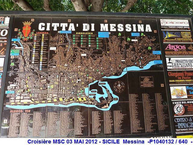 MSC Splendida Du 28 avril au 5 mai 2012 Gêne Barcelone Tunis La valette Taormine Messine Rome 811909P1040132