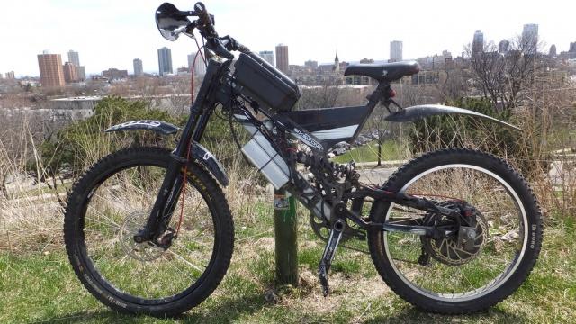 YX 2015: Le premier cadre de vélos électrique en fibre de carbone PRÊT-À-MONTER 811950139