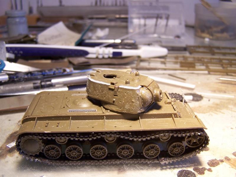 """""""Le duel"""" KV1c vs Panzergrenadiere Russie 1942 (terminé) 8121921005478"""