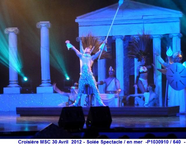 MSC Splendida Du 28 avril au 5 mai 2012 Gêne Barcelone Tunis La valette Taormine Messine Rome 812610P1030910