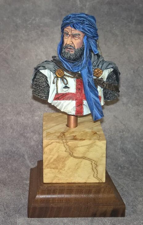 Templier à Jérusalem - Premier buste 813209Templier1