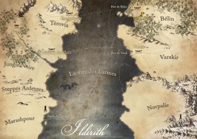 Le continent d'Ildirith 813715ildirith2