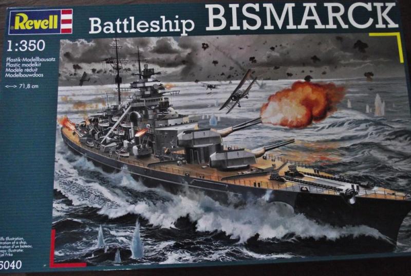 Bismarck Revell au 1/350ème  814076DSCF0994