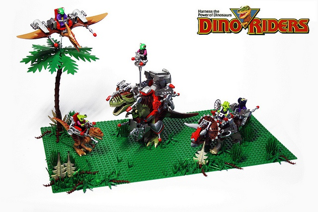 Les jouets DINO-RIDERS ( dinoriders ) - IDEAL 8142496796330327ebfccdc7fdz