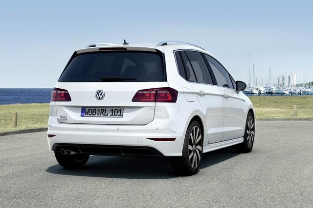 Volkswagen R GmbH rehausse le look sport de la Golf Sportsvan  815505thddb2015au01275large