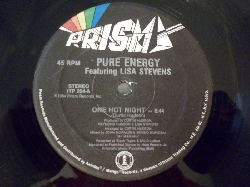 PURE ENERGY 817769onehot