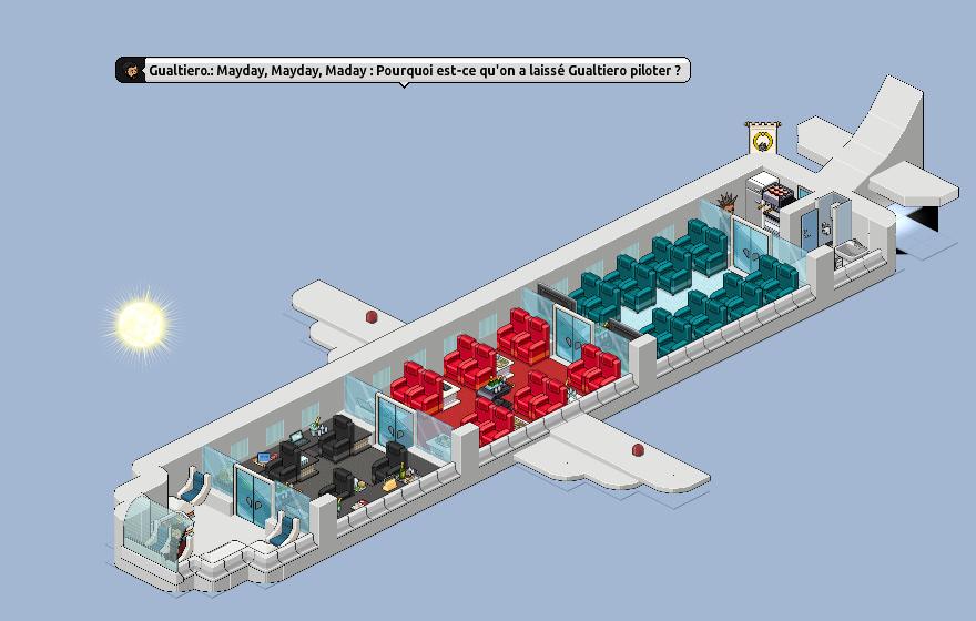 Avion HabbAirlines 818057Habbairlines