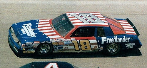 Chevy Monte-Carlo 1986 #18 freedlaander Tommy ELLIS 81810418Freelanderrefavi