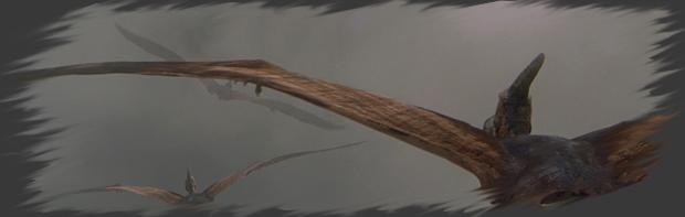 Les Ptéranodons