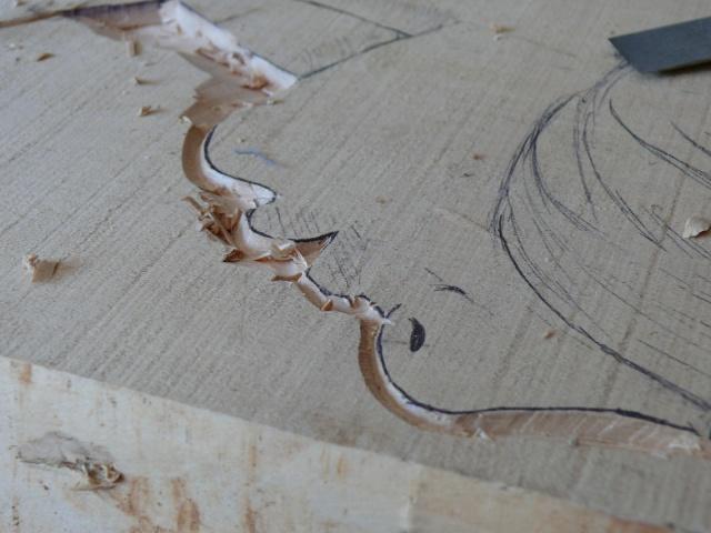 JJ - bas relief d'un nu (2013) 818436011