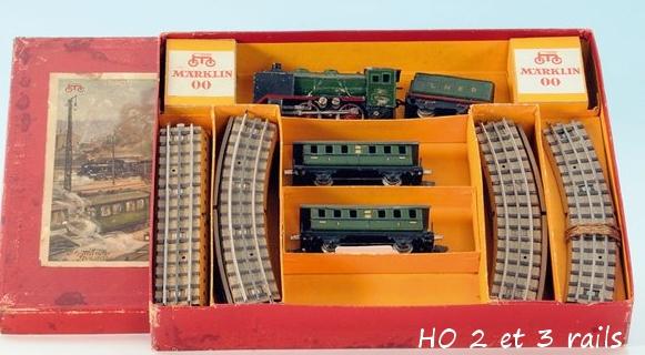 Coffrets Märklin 1936 - 1968 (rouges, noirs, verts ou bleus) 818783MarklinzugpackluingR700LNERR