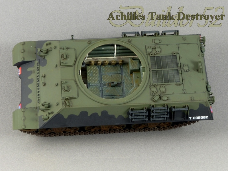 Achilles Tank Destroyer - Academy-Italeri + RB Model + set Blast 1/35 820329P1030851