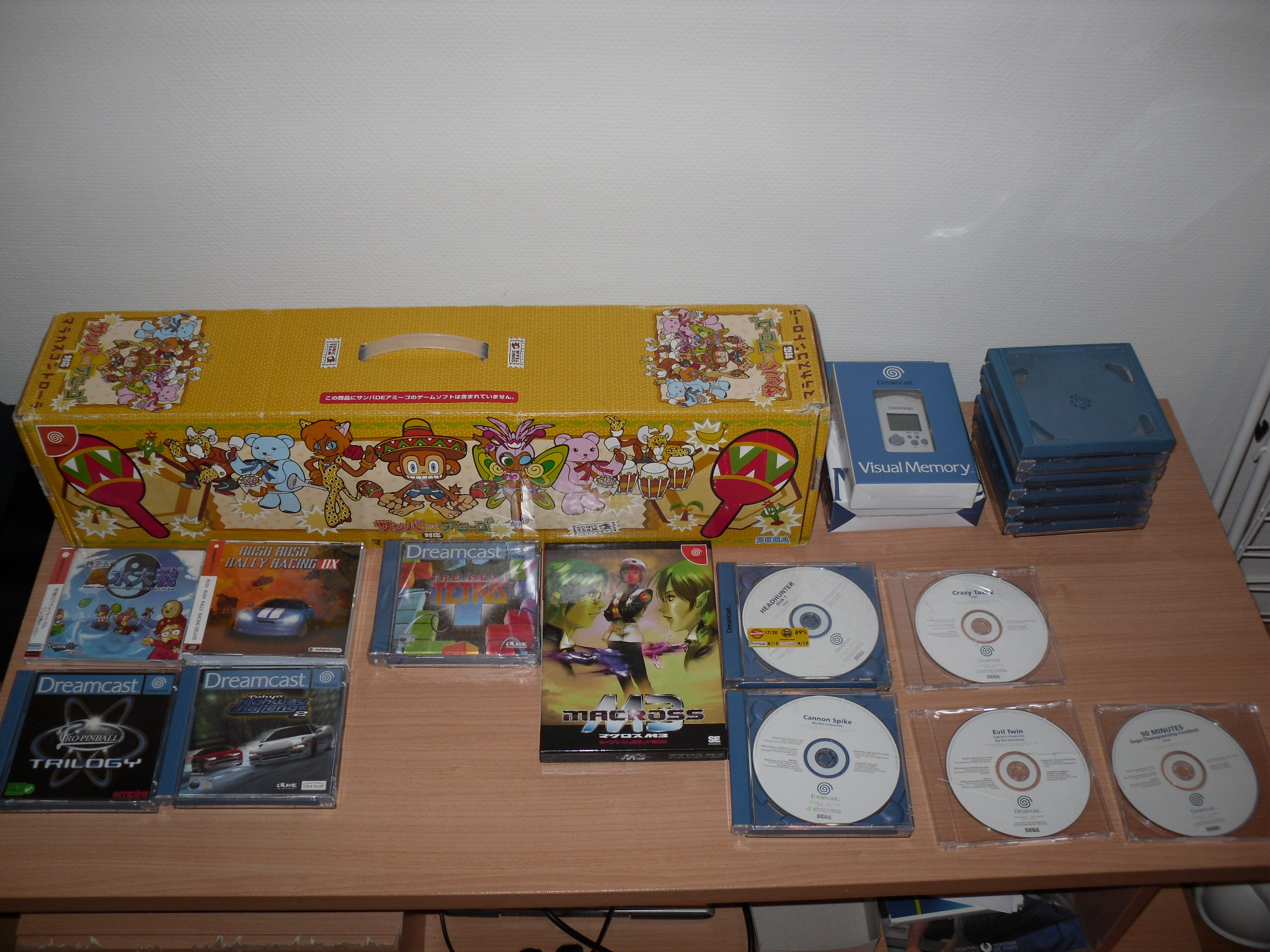 ma collection, dreamcast inside !! 821920SDC10846