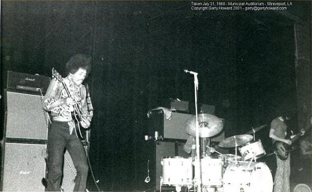 Shreveport (Municipal Auditorium) : 31 juillet 1968 8227421968073102shreveportusa
