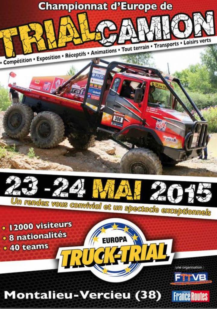 Championnat d'EUROPE TRIAL TRUCK (38) 24/25 mai 82286400116