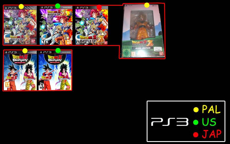 Questions à propos des jeux DBZ 822910DBZPS302