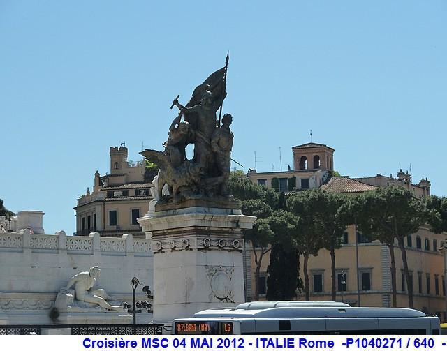 MSC Splendida Du 28 avril au 5 mai 2012 Gêne Barcelone Tunis La valette Taormine Messine Rome 824226P1040271