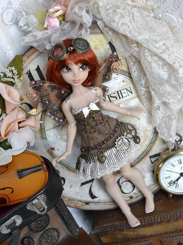 [Créa] † Mystic Dolls † : Réservations ouvertes ! 825874AriaSteampunk01