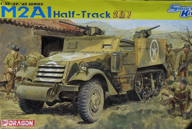 Half-track M2  Dragon 1/35 825982modles121001