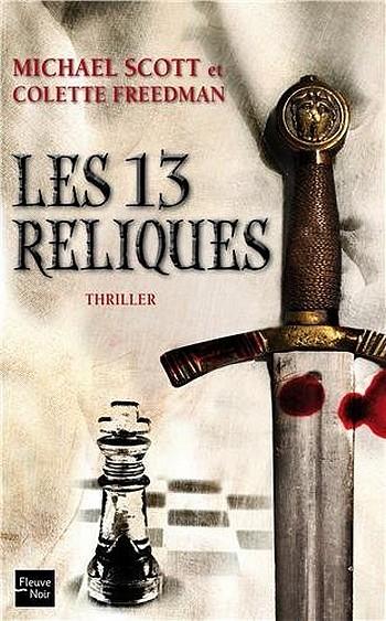 News romans et cycles Fantasy et Médiéval Fantastique 826064Les13reliques
