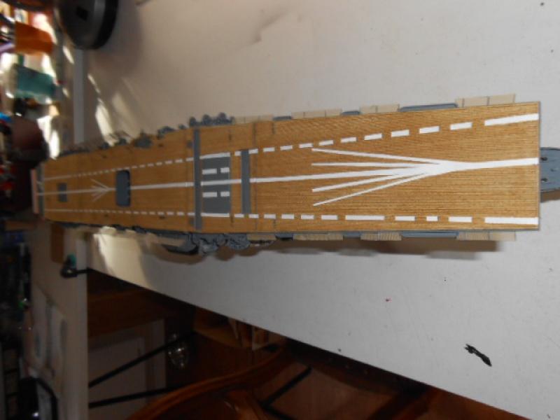 PA AKAGI 1/350 de chez Hasegawa PE + pont en bois par Lionel45 - Page 5 826410AA006