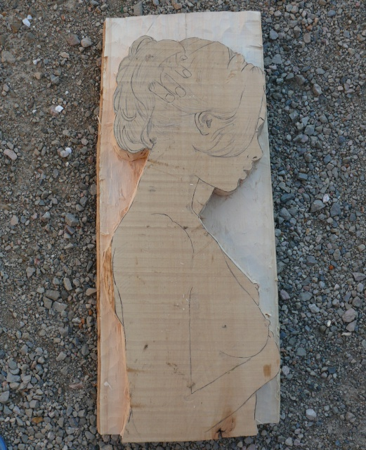 JJ - bas relief d'un nu (2013) 826835033