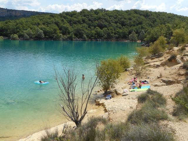 Camping le Vieux Chêne à Bauduen Lac St Croix 827749DSCN0046