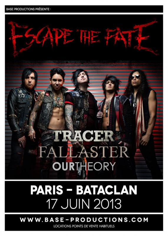17.06 - Escape The Fate + Tracer +  .. @ Paris 829537EscapeTheFateflyer