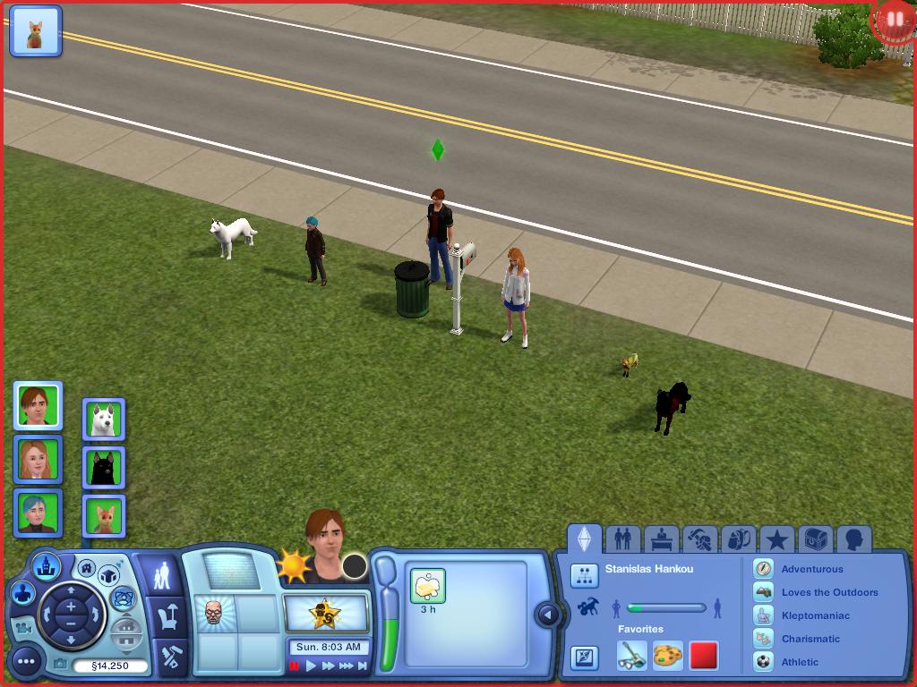 Les Sims ... Avec Kimy ! 831084Larriveenrang