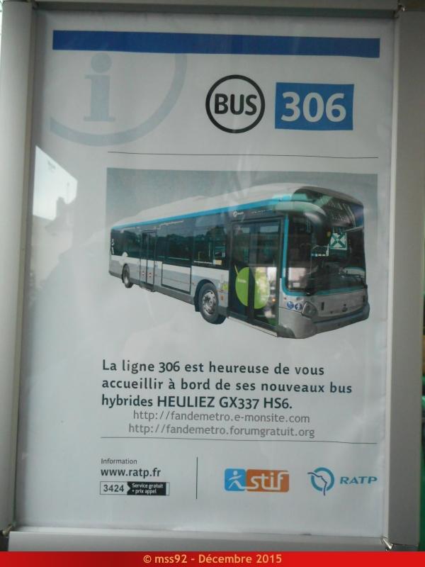 [RATP] GX 337 : Électrique, Hybride et GNV - Page 2 831642DSCN1587