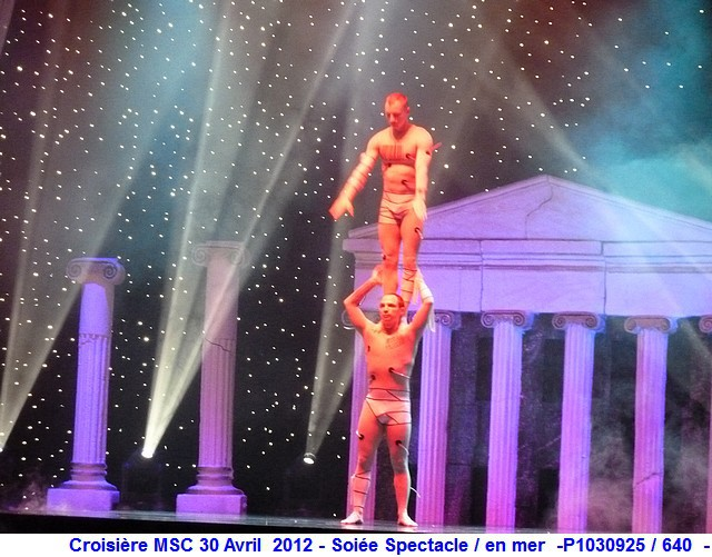 MSC Splendida Du 28 avril au 5 mai 2012 Gêne Barcelone Tunis La valette Taormine Messine Rome 831809P1030925