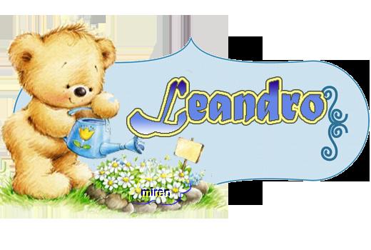 Nombres con L 832111Leandro