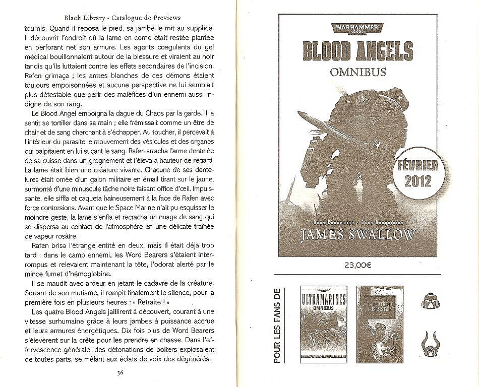Blood Angels Omnibus de James Swallow 832548angels2