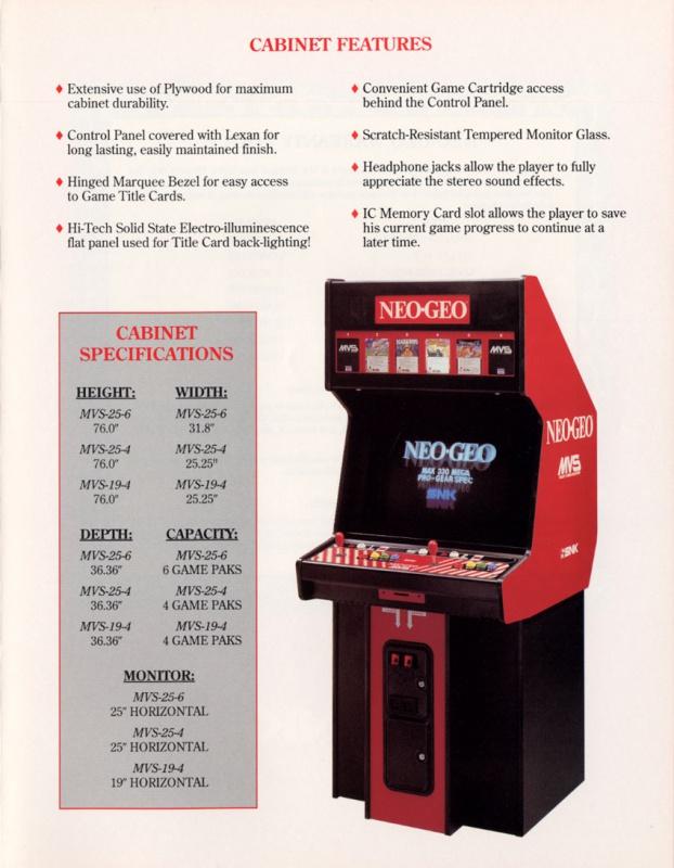 SNK un pilier de l'arcade 83279114012205