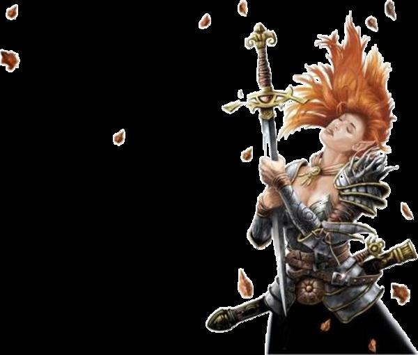 la guerrière  qui garde l'épée Excallibur  832795LAGUERRI7RESTMICHEL
